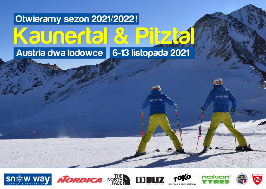 Szkolenie narciarskie Kaunertal